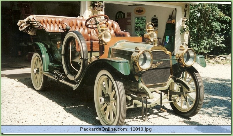 1910 Packard Model 18 Touring
