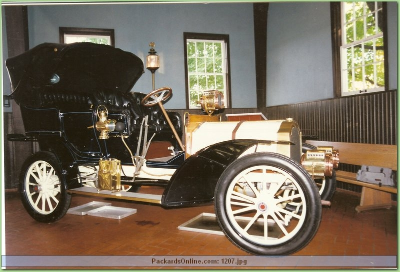 1905 Packard Model N Touring