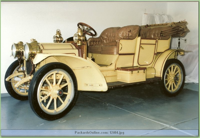1910 Packard Model 18 Rep.'09 Touring