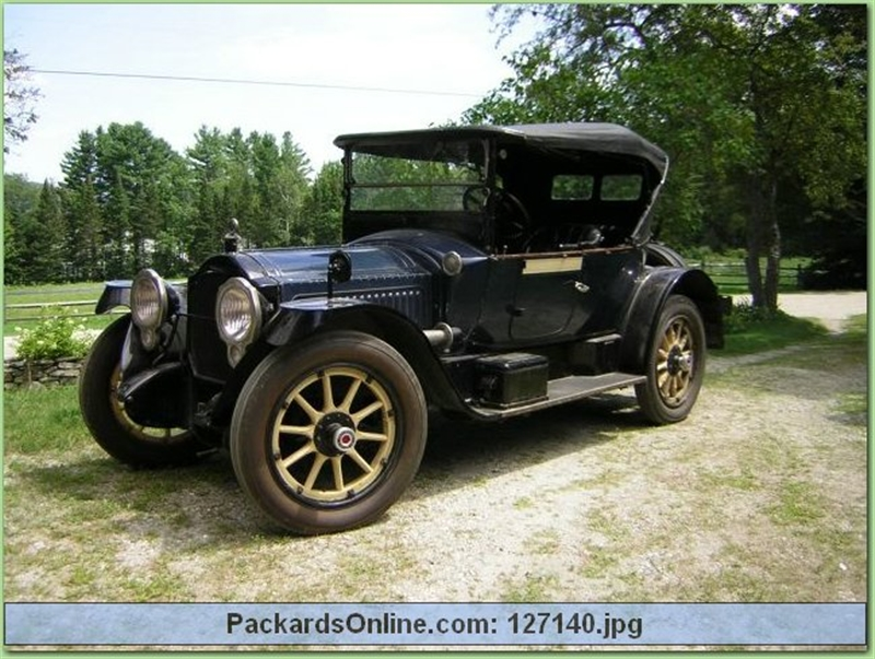 1917 Packard Model 2-25 4 Pas Runabout
