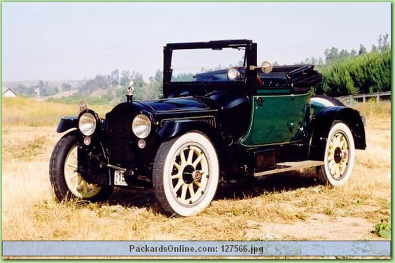 1917 Packard Model 2-25 Conv. Coupe