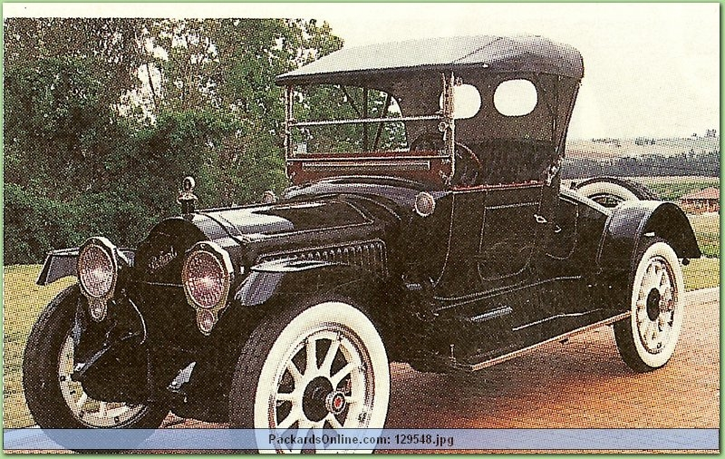 1917 Packard Model 2-35 2 Pas Runabout