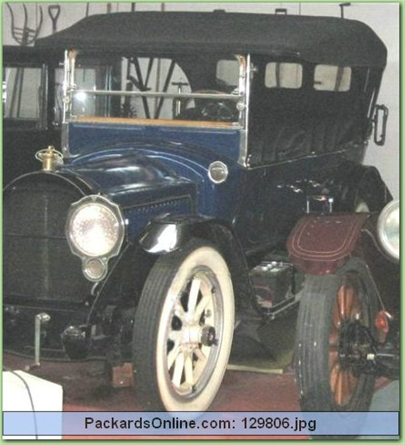 1917 Packard Model 2-25 5 Pas Touring