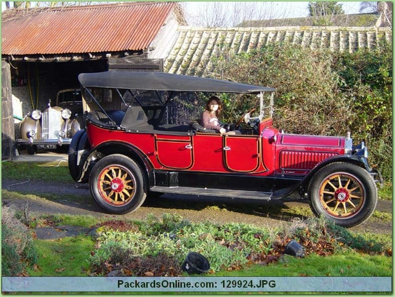 1917 Packard Model 2-35 7 Pas Touring