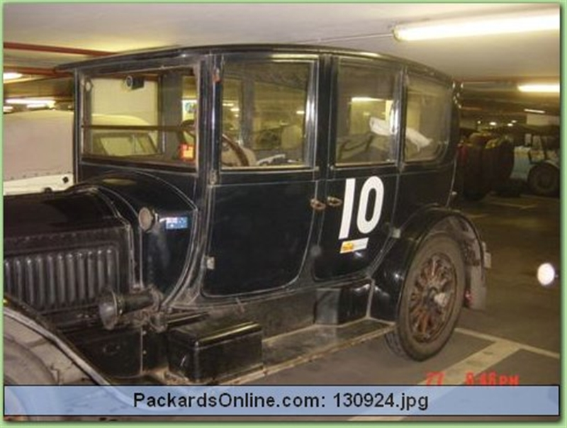 1917 Packard Model 2-25 Brougham