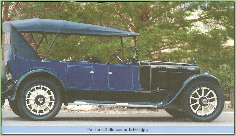 1918 Packard Model 3-35 7 Pass. Touring