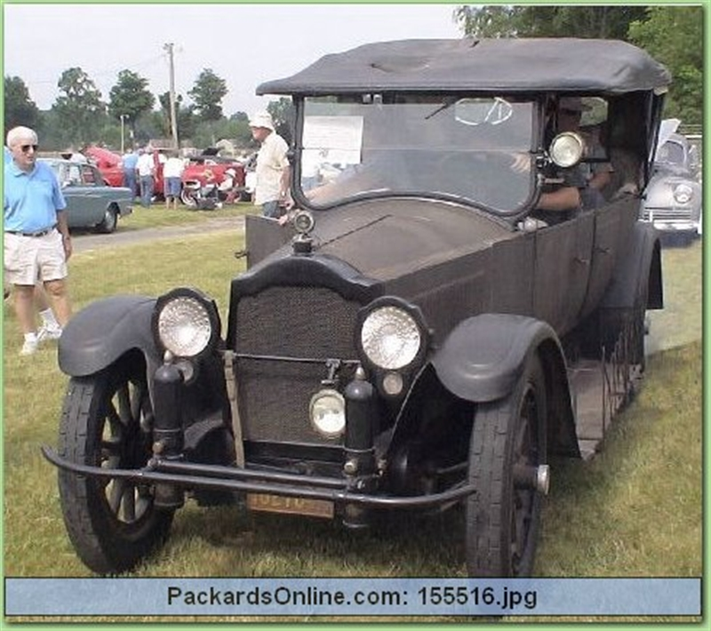 1918 Packard Model 3-35 7 Pas Touring