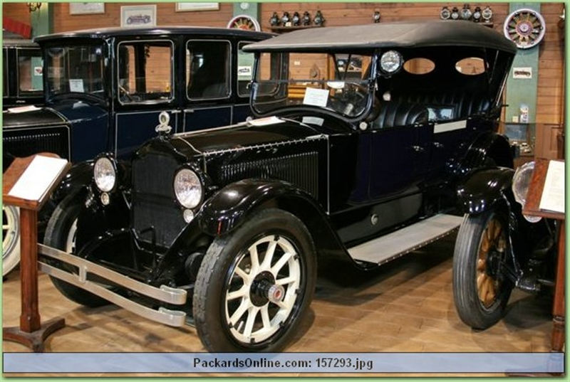 1919 Packard Model 3-25 7 Pas Touring