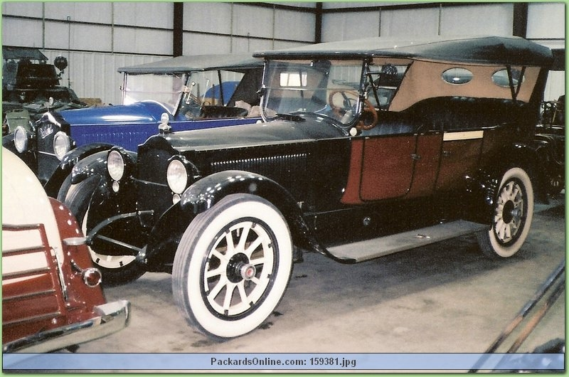1919 Packard Model 3-35 7 Pas Touring