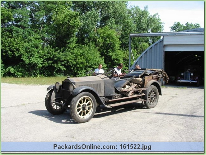 1920 Packard Model 3-35 7 Pas Touring