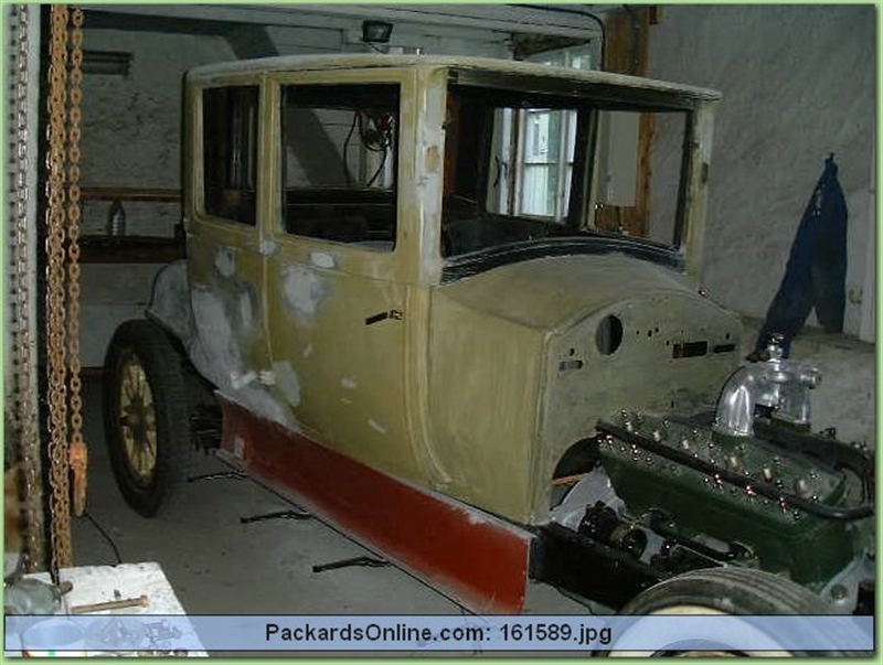 1920 Packard Model 3-35 opera coupe