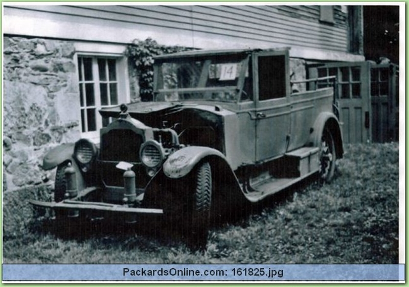 1920 Packard Model 3-35 Limousine