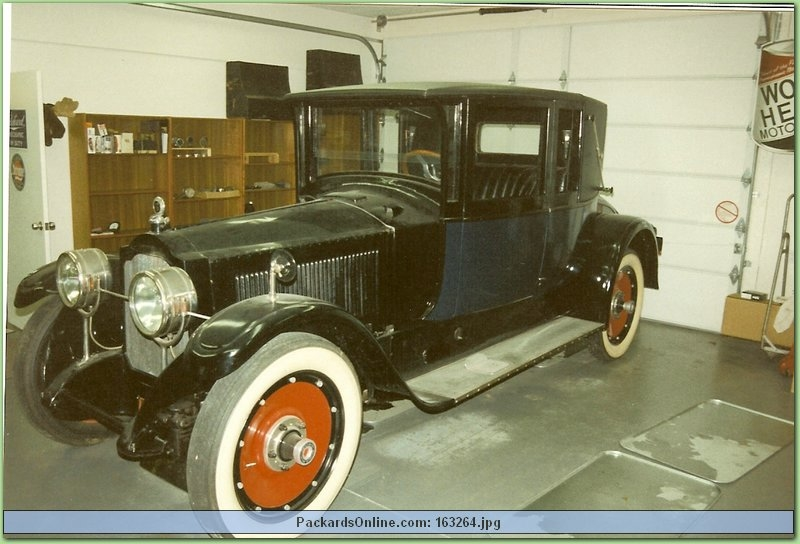 1920 Packard Model 3-35 5 Pas Coupe