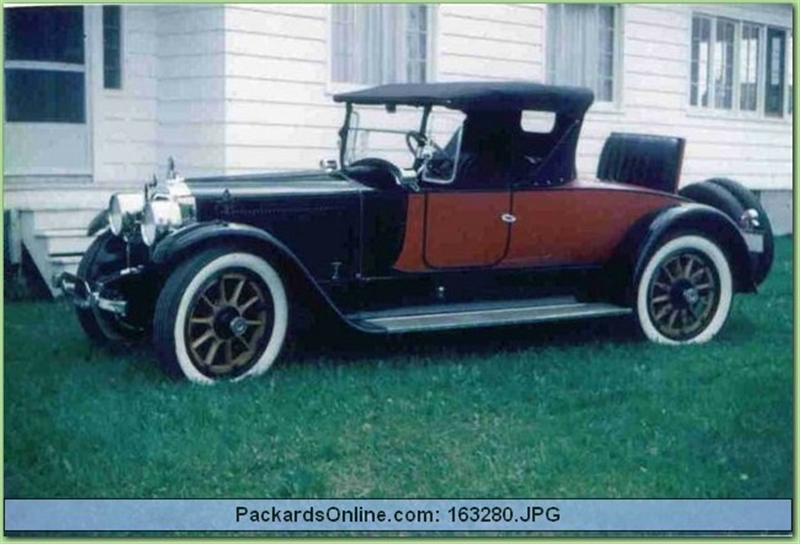 1920 Packard Model 3-35 Spec. Runabout