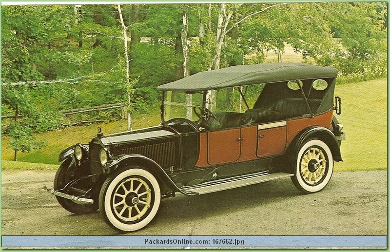 1922 Packard Model 3-35 7 Pas Touring