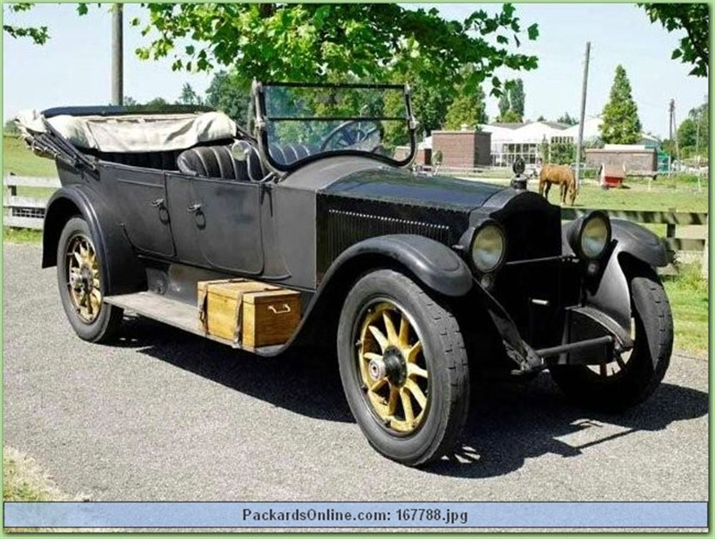 1922 Packard Model 3-35 Touring