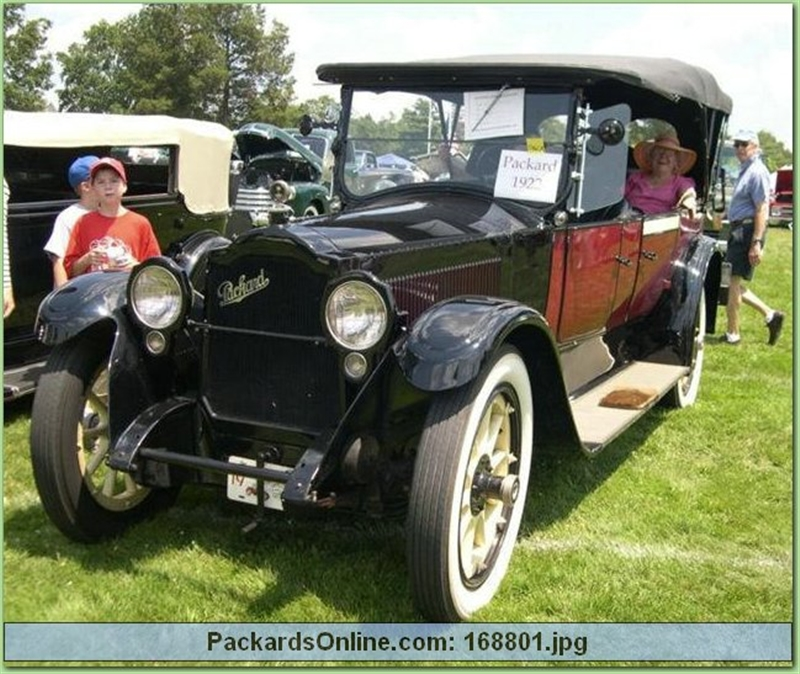 1922 Packard Model 3-35 * 7 Pas Touring