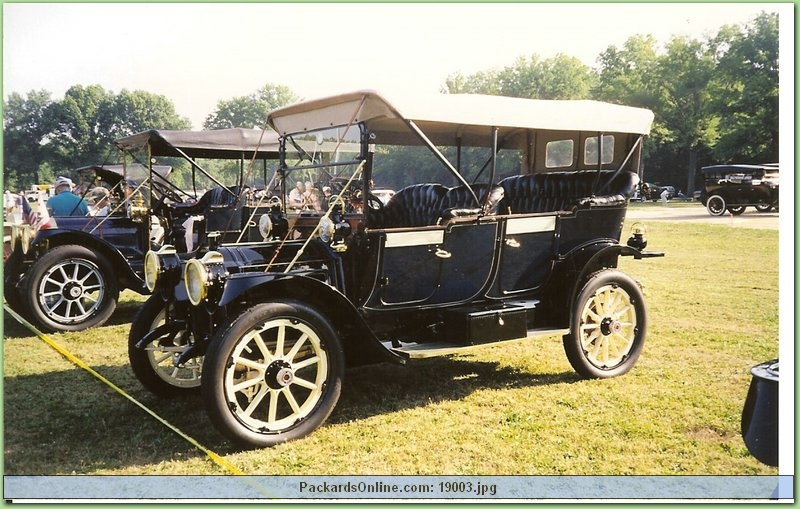 1911 Packard Model 18 Touring