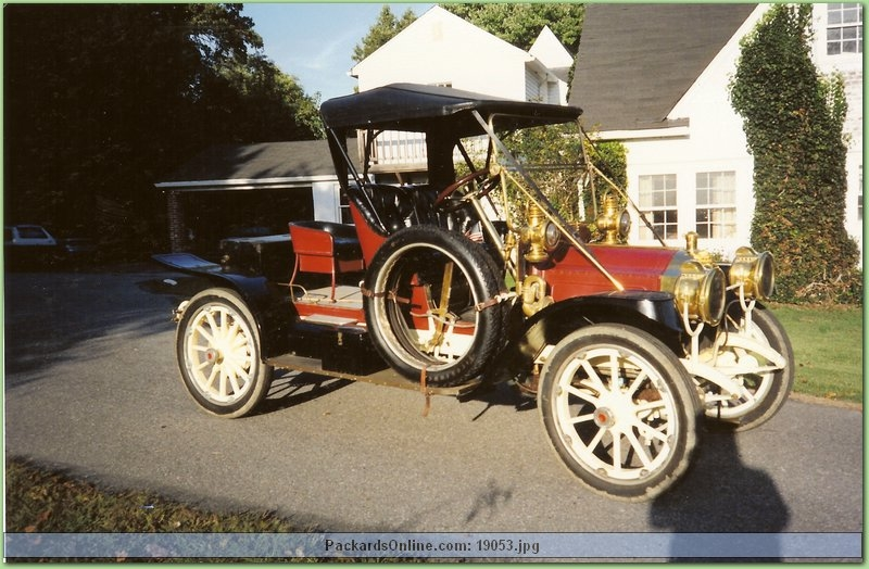 1911 Packard Model   18 Runabout