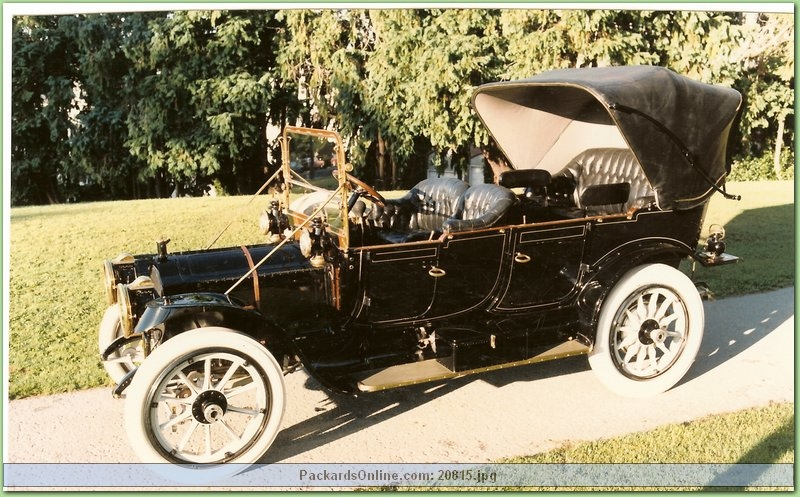 1912 Packard Model 30 7 Pas Touring