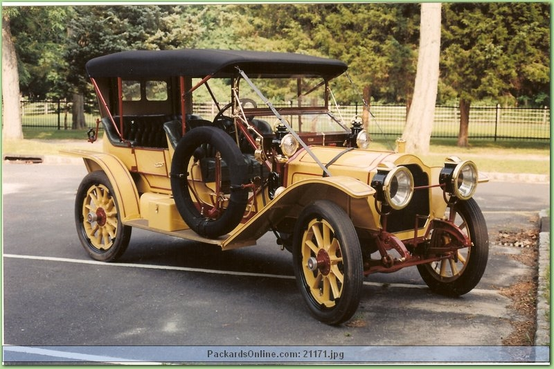 1912 Packard Model 30 Cust.Toy Toneau