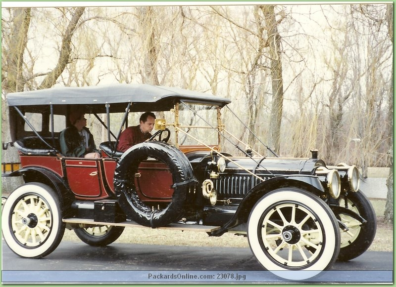 1912 Packard Model 1-48 5 Pas Phaeton