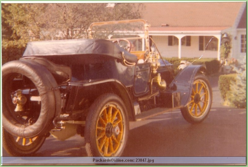 1912 Packard Model 1-48 Runabout