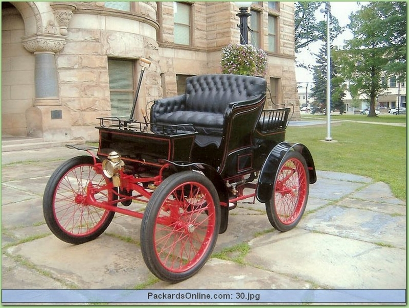1900 Packard Model B 4 Pas. Carriage