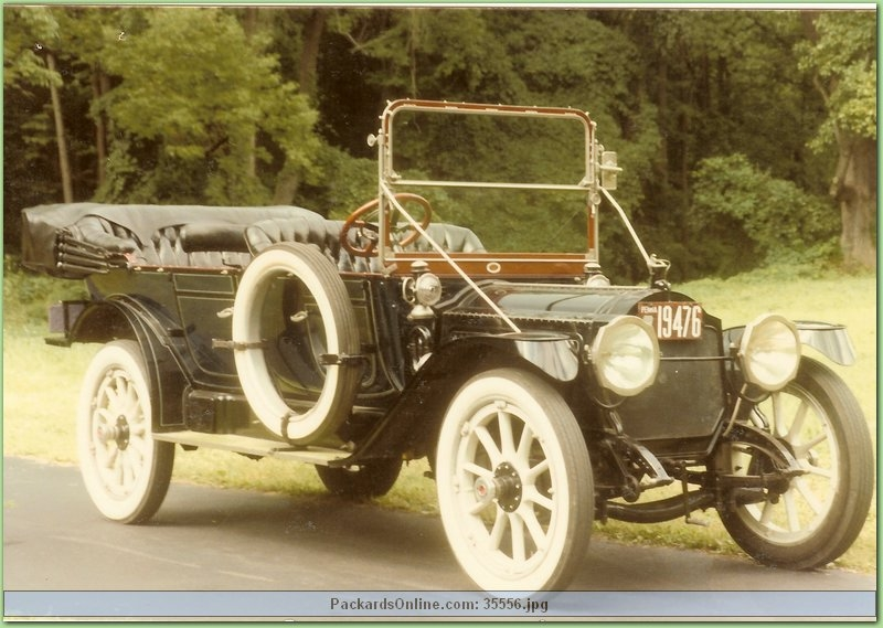 1913 Packard Model 2-48 7 Pas Touring