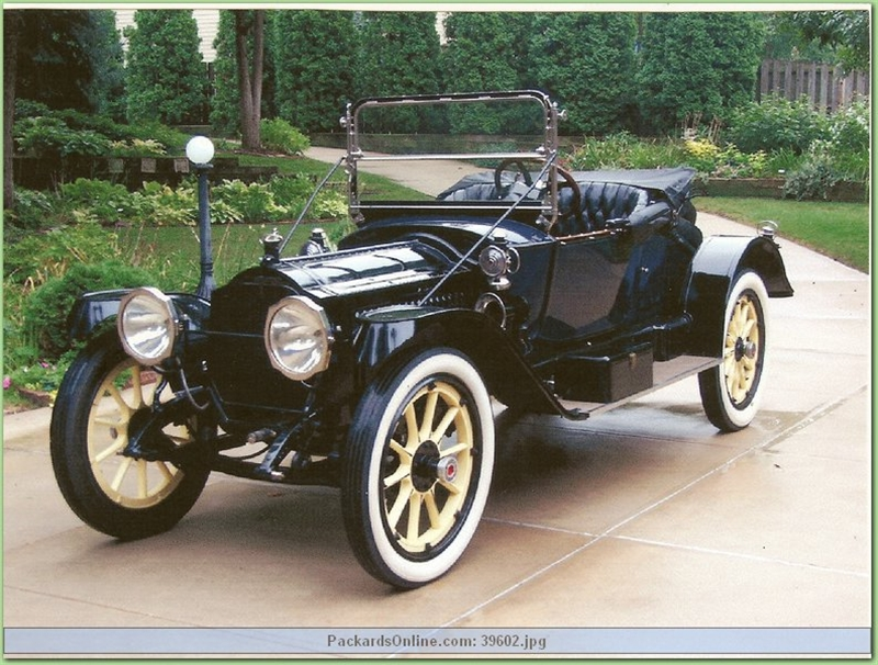 1914 Packard Model 1-38 P.Runabout