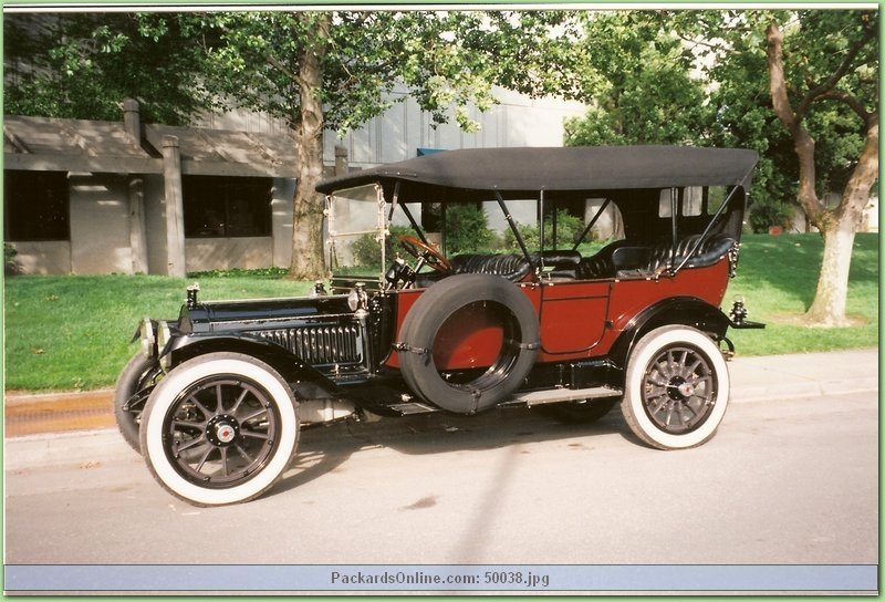 1914 Packard Model 3-48 7 Pas Touring