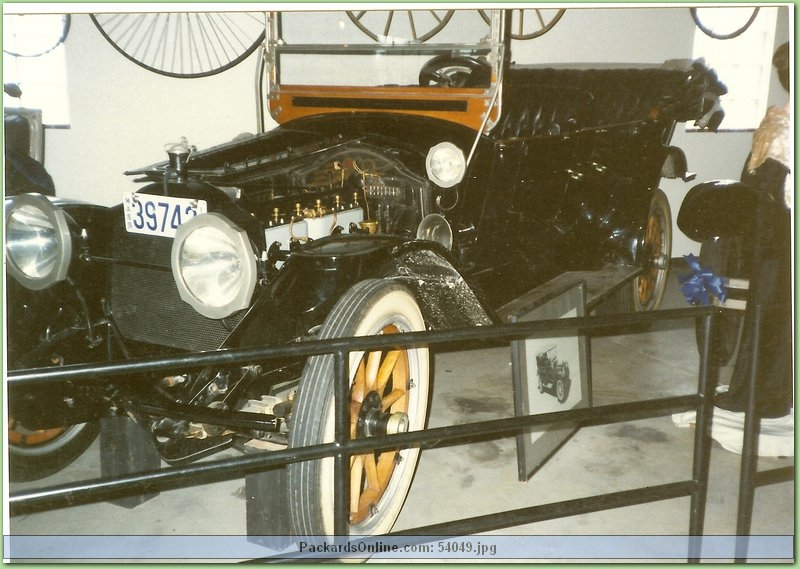 1914 Packard Model 2-38 7 Pas Touring