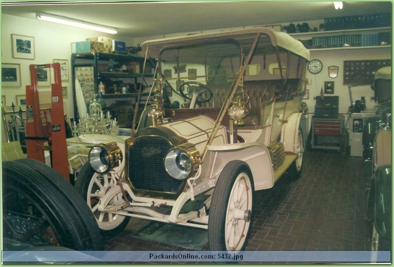 1908 Packard Model 30 7 Pas Touring