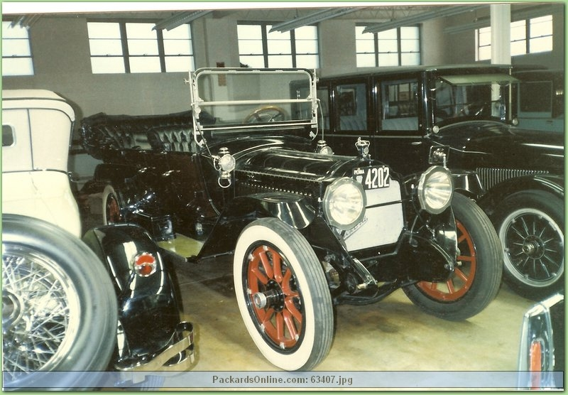 1914 Packard Model 4-48 7 Pas Touring