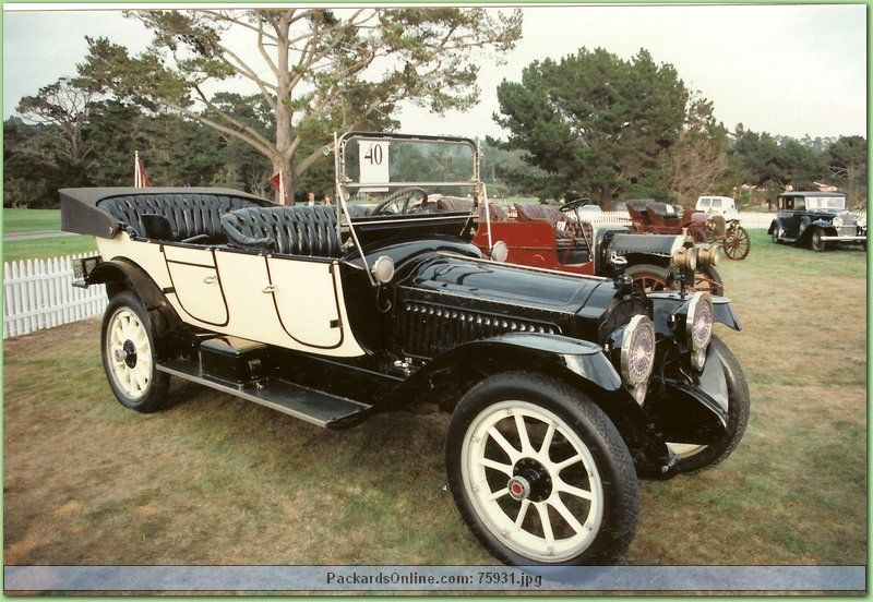 1915 Packard Model 3-38 7 Pas Touring