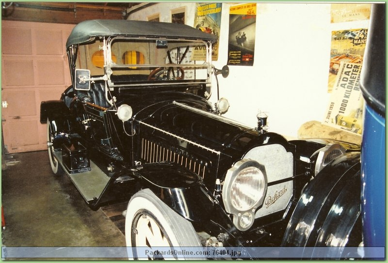 1915 Packard Model 3-38 Runabout