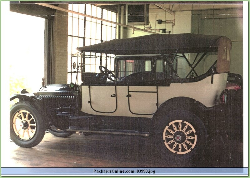 1916 Packard Model 1-25 5 Pas Touring