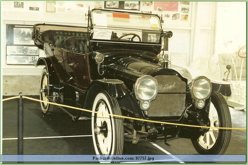 1916 Packard Model 1-25 7 Pas Touring