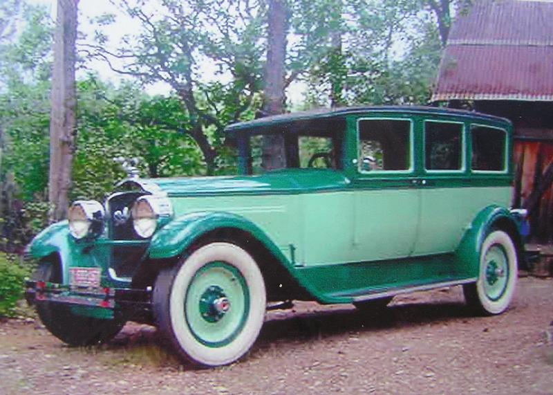1927 Packard Model 343 Sedan - 7 pass.