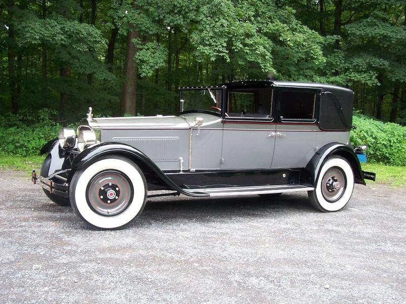 1927 Packard Model 343 Town car