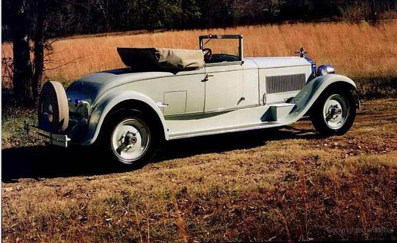 1925 Packard Model 243 Convertible coupe