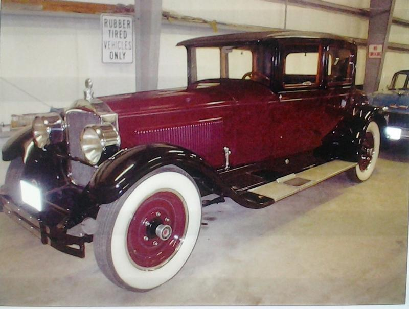 1927 Packard Model 343 Coupe